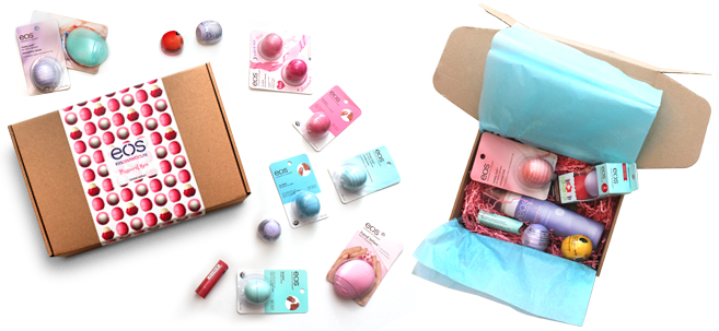 Подарочная упаковка бальзамов EOS
